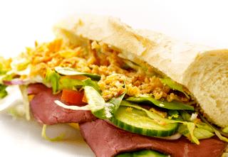 Sandwich m. roastbeef